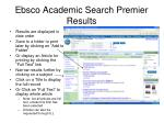 ebsco academic search premier results