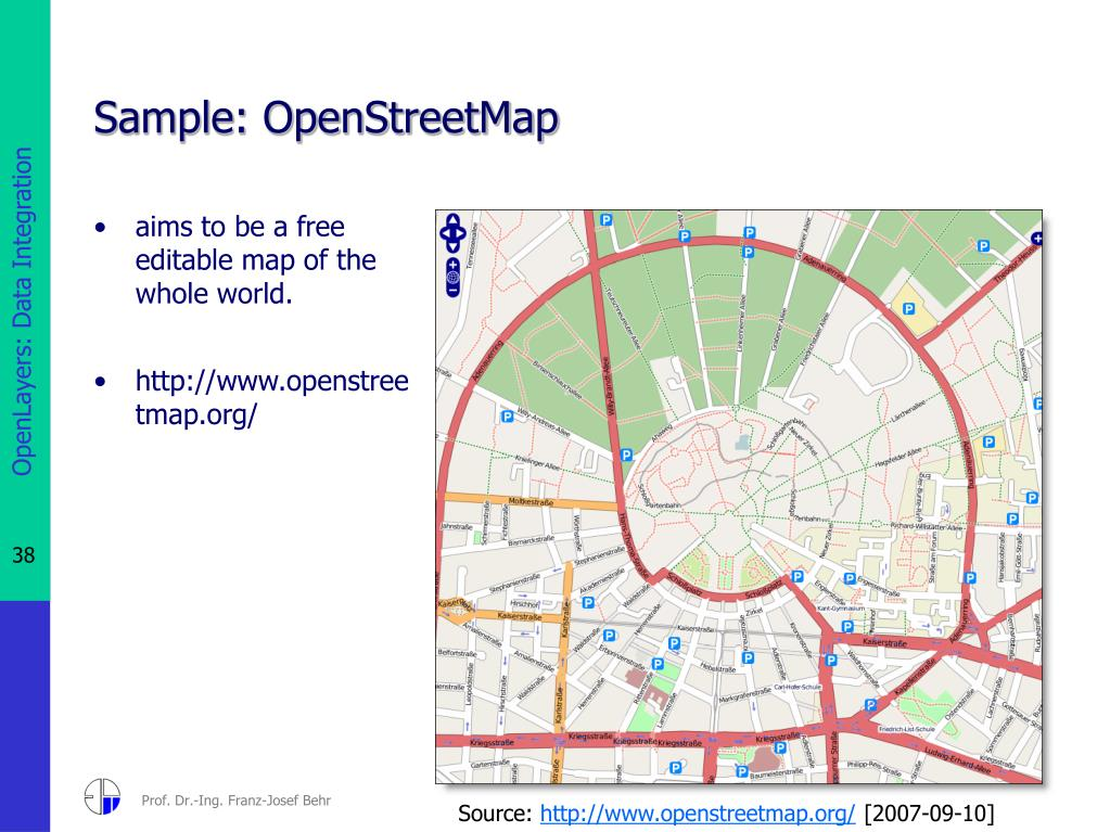 PPT - OpenLayers: Data Integration in an Open Source Map