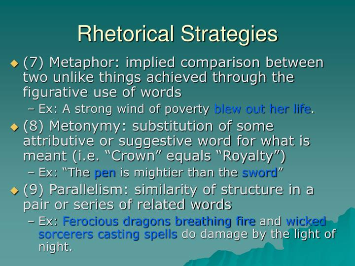 riffkin rhetorical strategies The ap english language rhetorical essay can be tricky do you know how to approach the rhetorical essay read this article to discover useful tips.