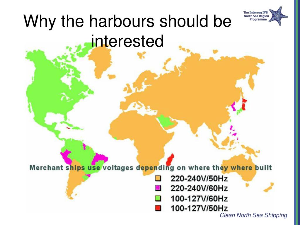 Why the harbours should be interested