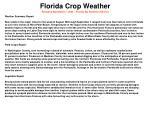 florida crop weather released september 7 2004 florida ag statistics service