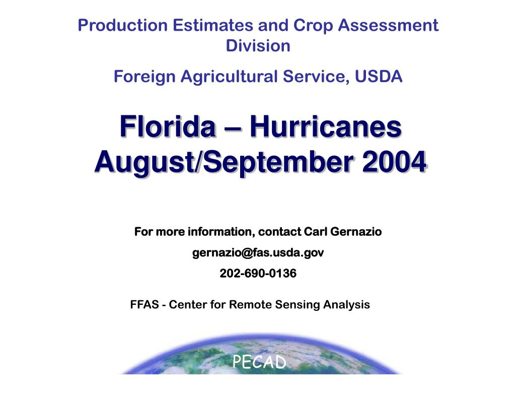 florida hurricanes august september 2004 l.