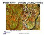 peace river de soto county florida