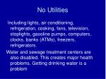 no utilities10