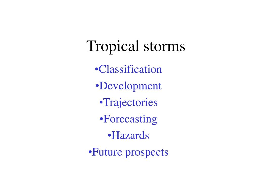 tropical storms l.