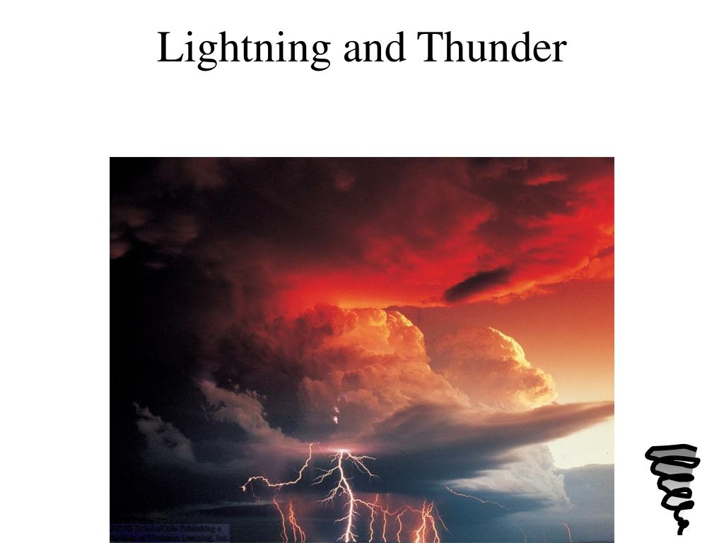 Lightning and Thunder