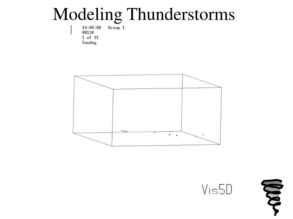 Modeling Thunderstorms