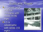 hurricane power8