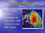 physical make up
