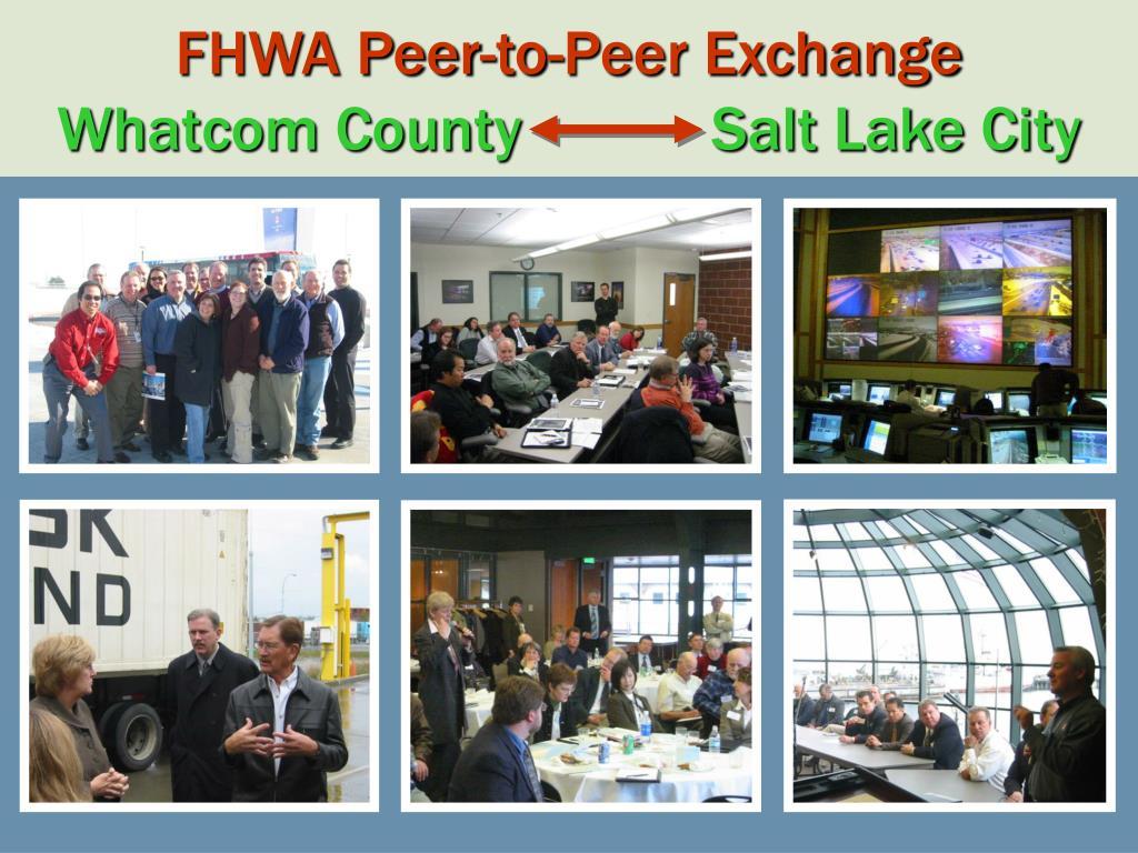FHWA Peer-to-Peer Exchange