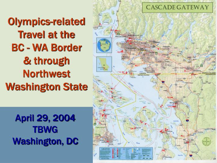 Olympics-related Travel at the