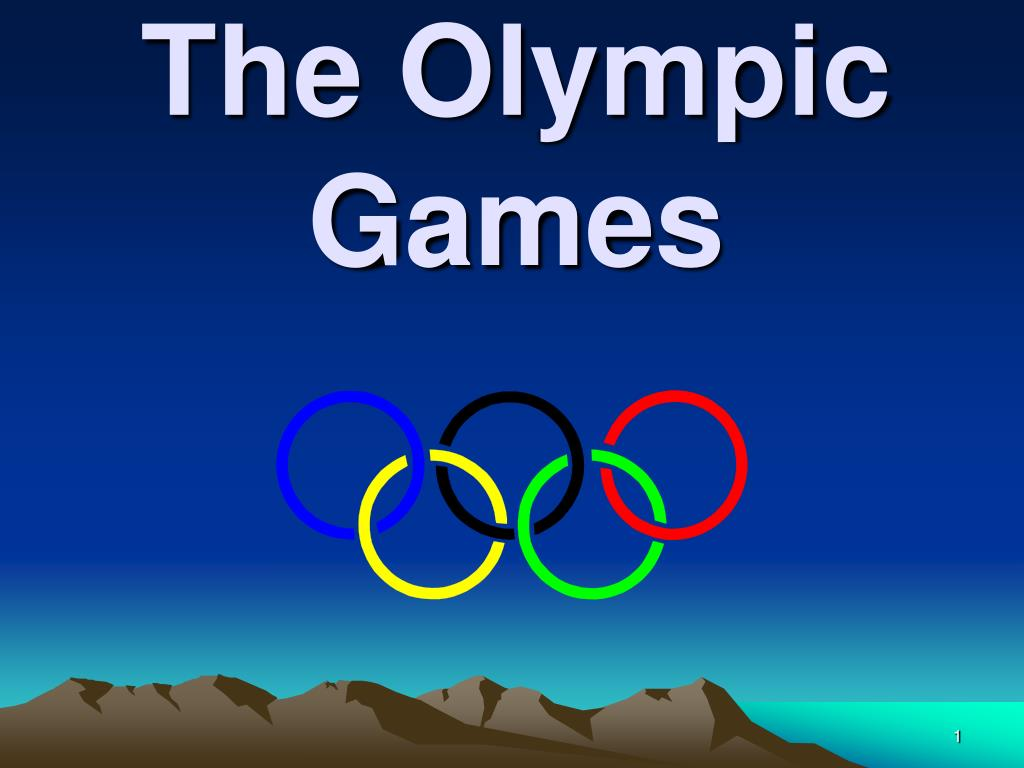 the olympic game the olympic games l.