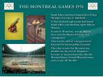the montreal games 1976