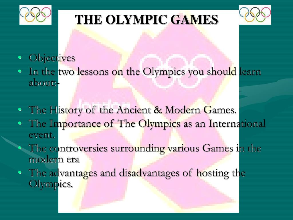 the olympic games l.