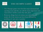 the olympic games6