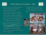 the seoul games 1988