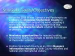 snogold goals objectives