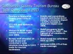 snohomish county tourism bureau brief overview of 2007