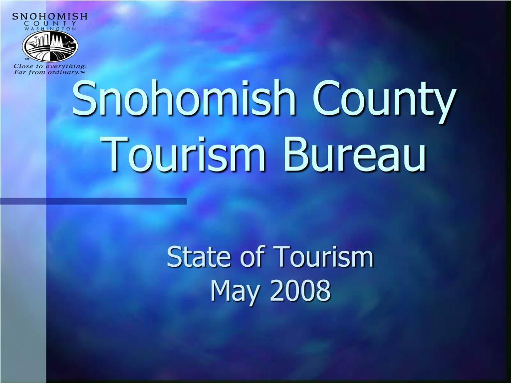 snohomish county tourism bureau l.