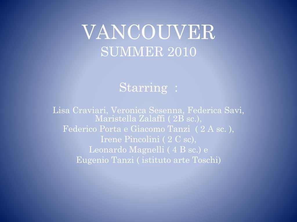 vancouver summer 2010 l.