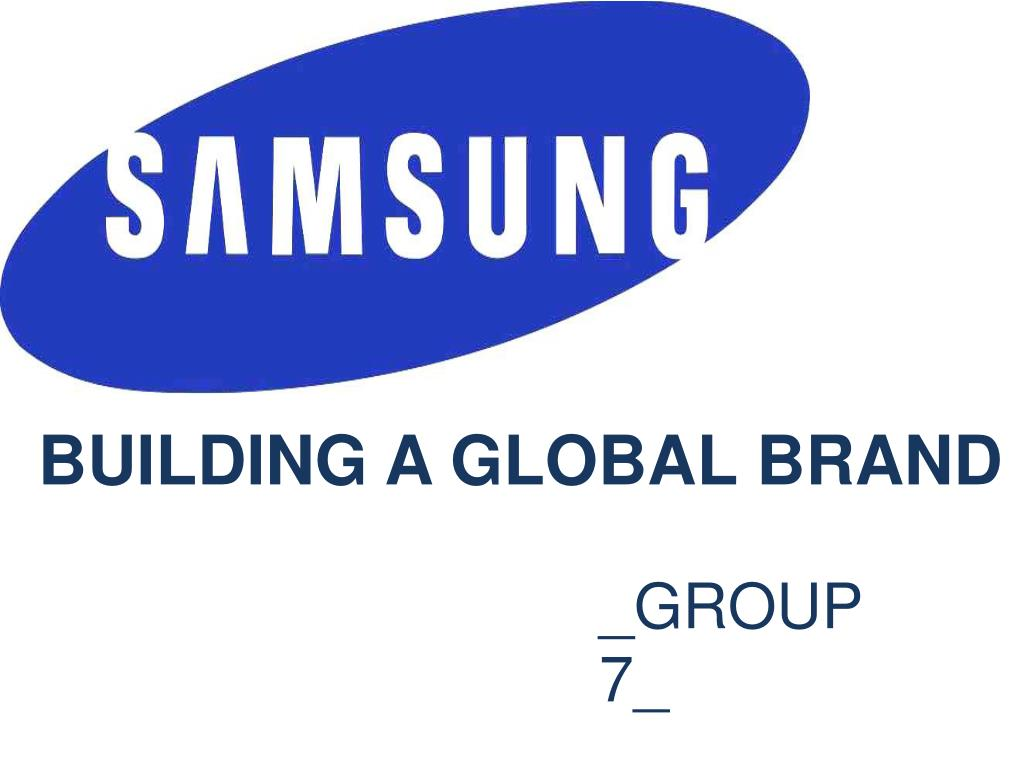 building a global brand l.