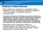 treatment bulimia nervosa