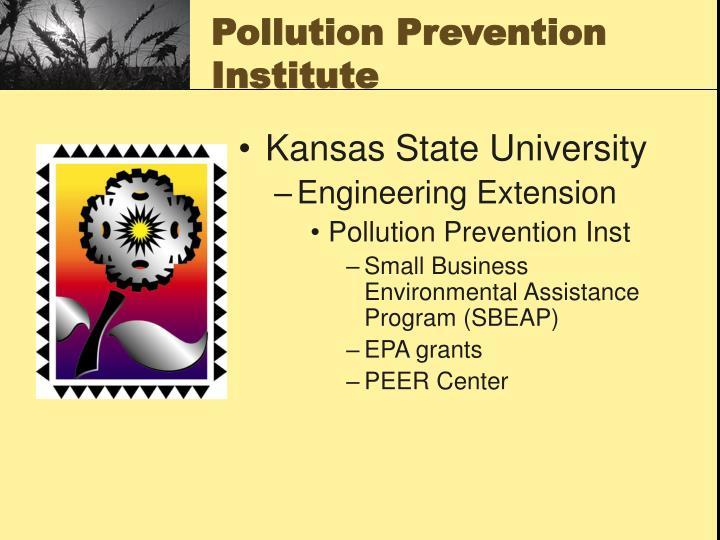 Pollution prevention institute