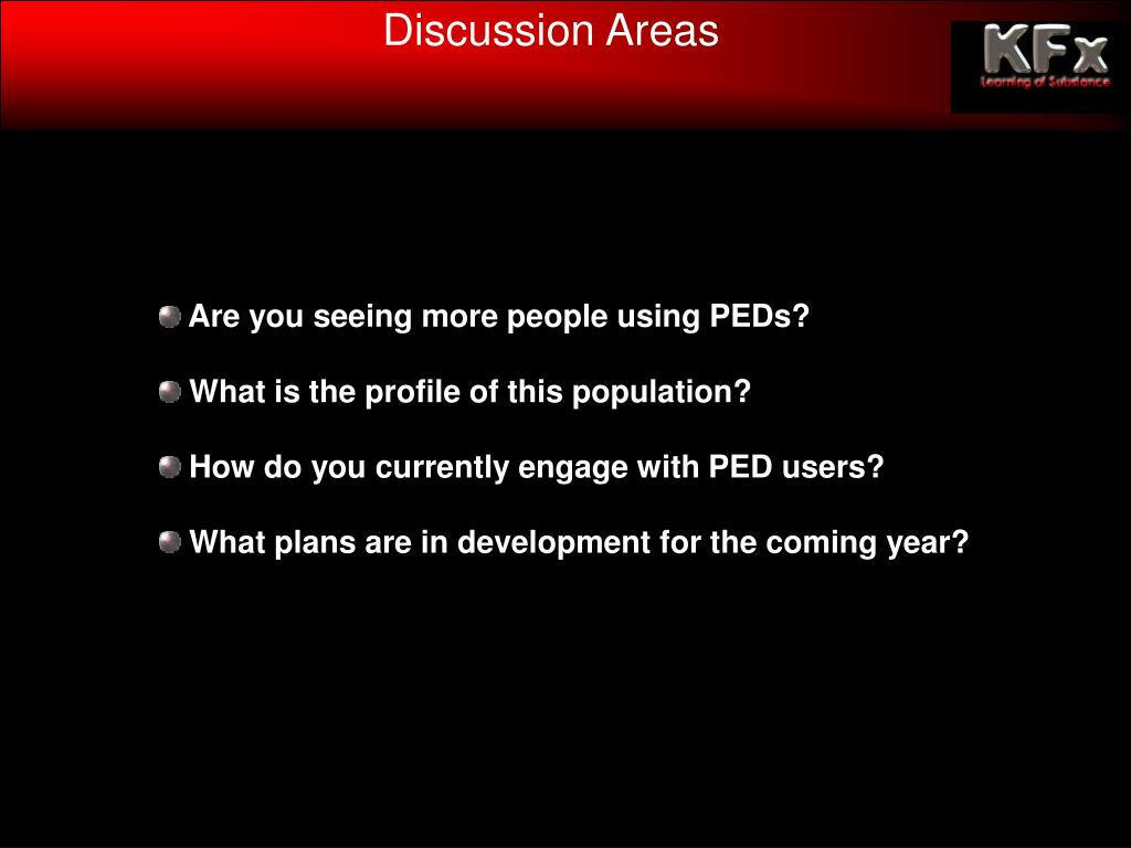 Discussion Areas