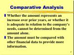 comparative analysis27