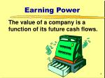earning power