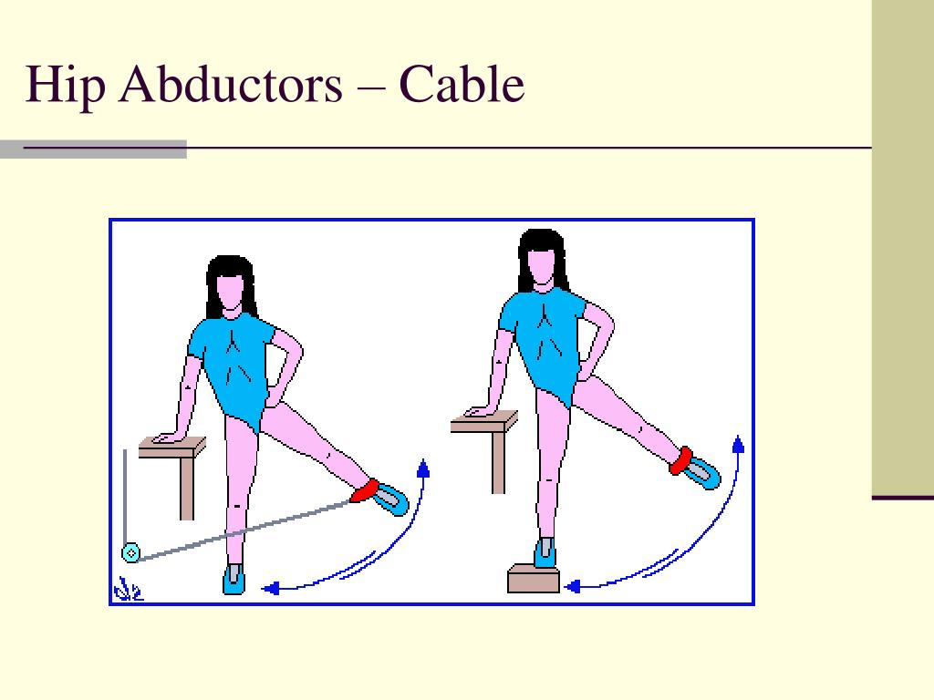Hip Abductors – Cable
