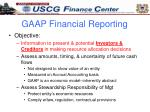 gaap financial reporting