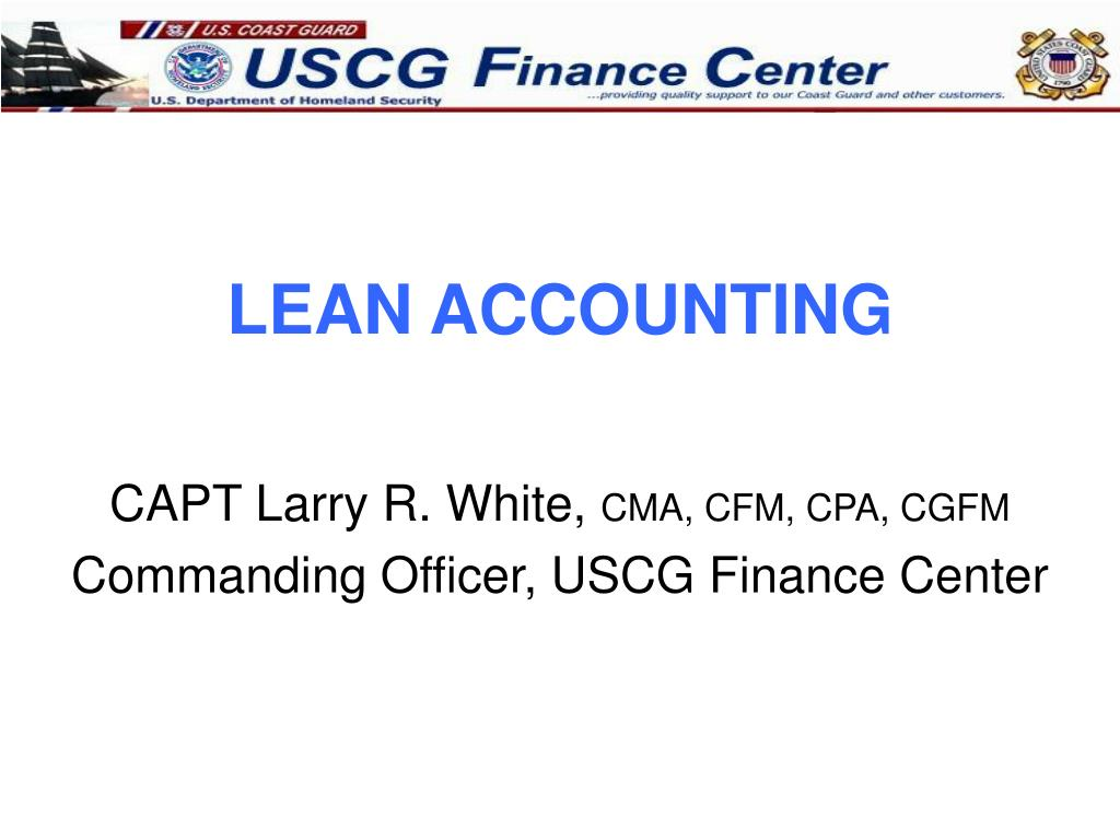 lean accounting l.