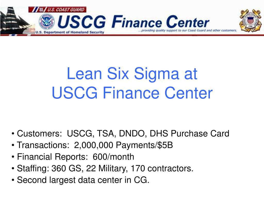 Lean Six Sigma at