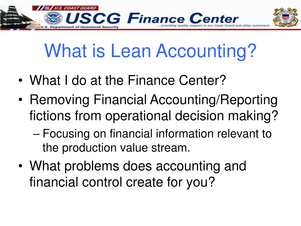 What is Lean Accounting?