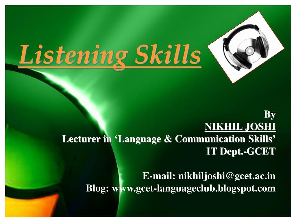 listening skills l.