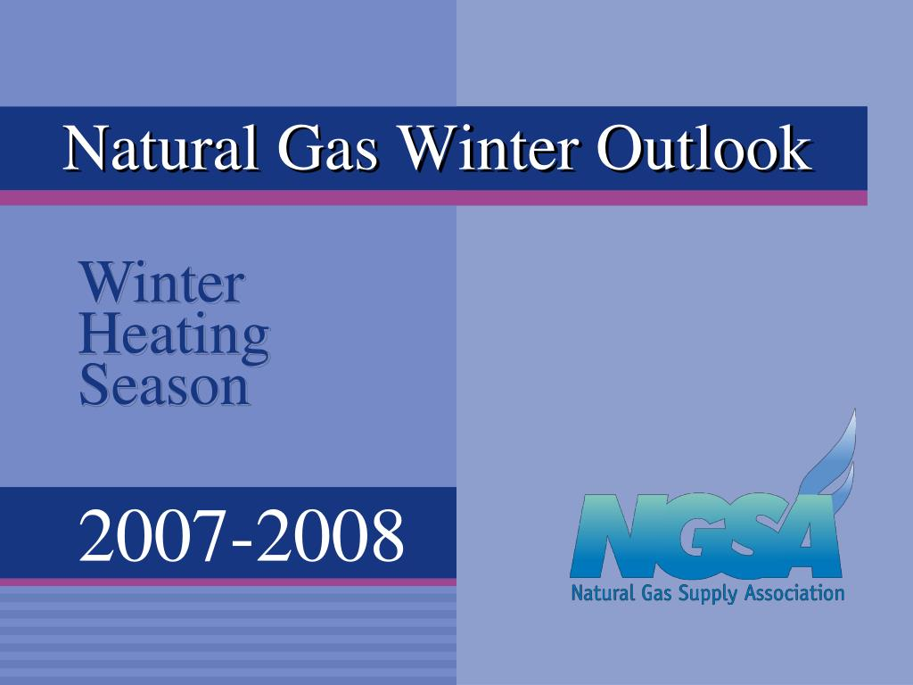 natural gas winter outlook l.