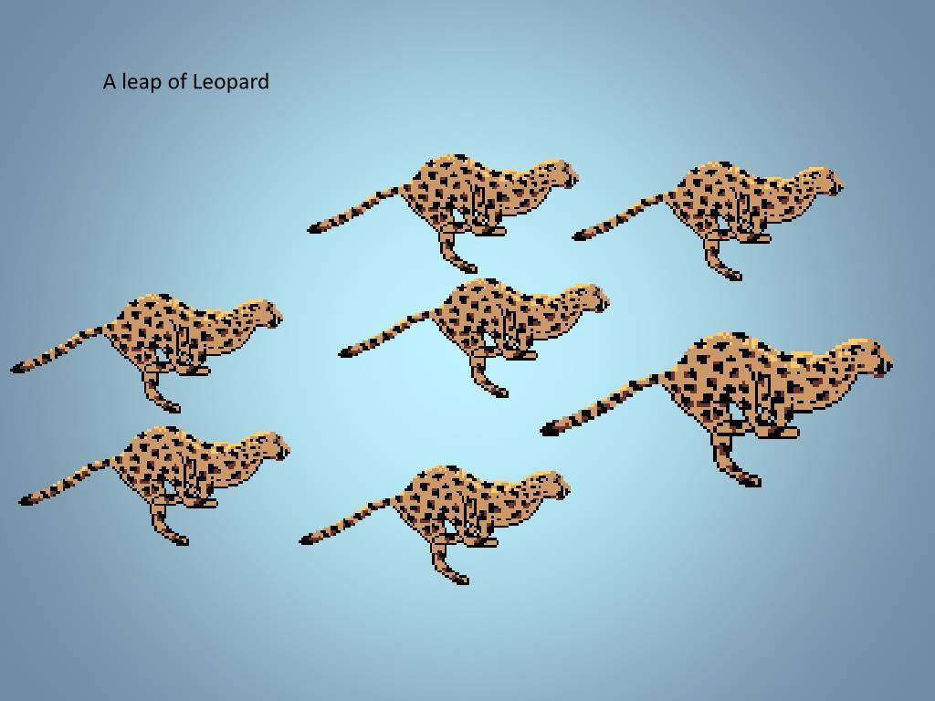 A leap of Leopard