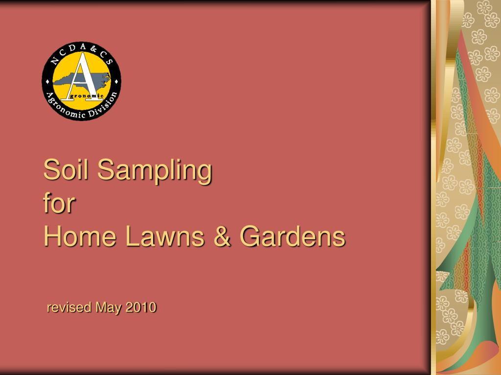 soil sampling for home lawns gardens l.