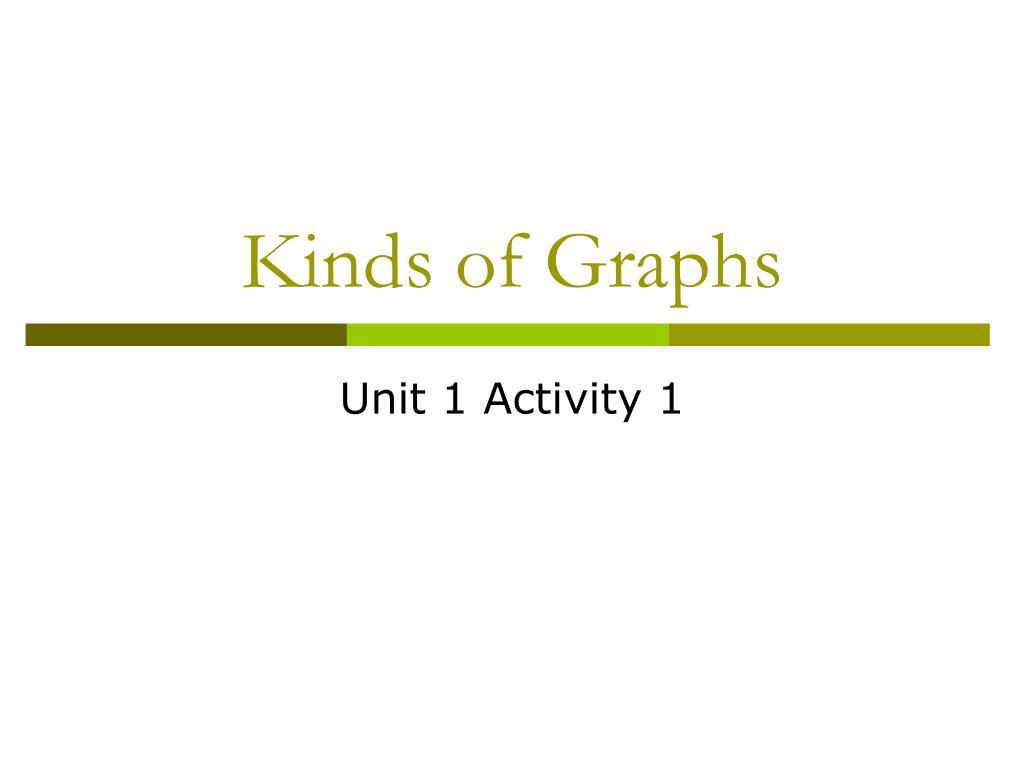 kinds of graphs l.