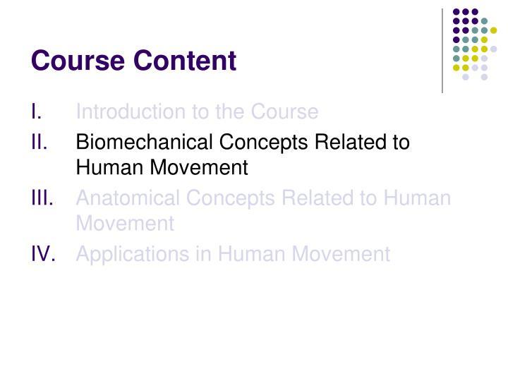 Course content3