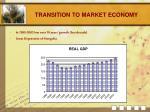 transition to market economy