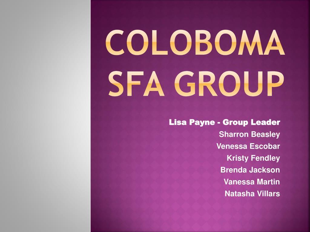 Coloboma