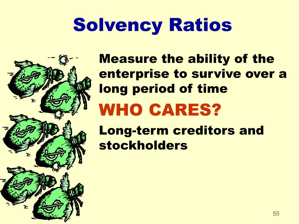 Solvency Ratios