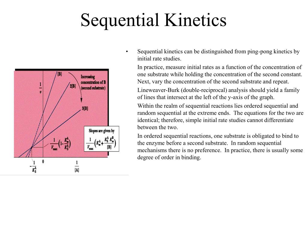 Sequential Kinetics