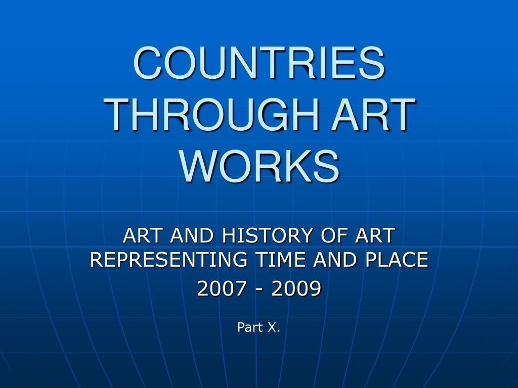 countries through art works l.