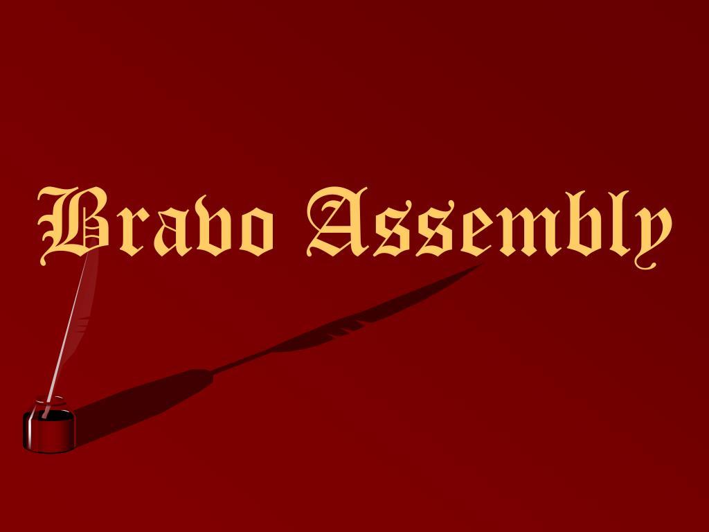 bravo assembly l.