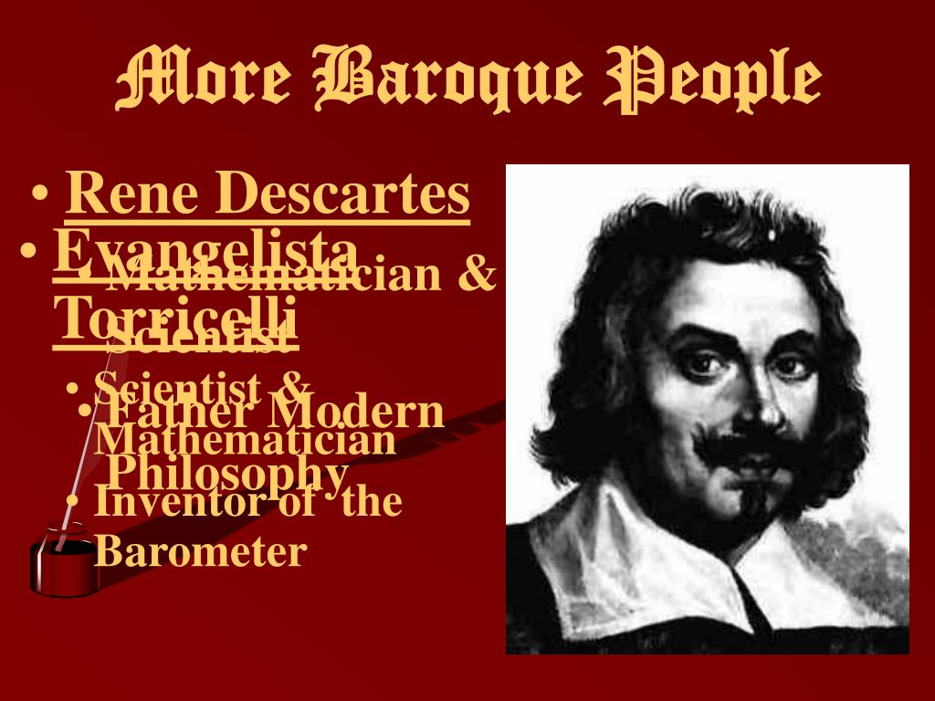 More Baroque People