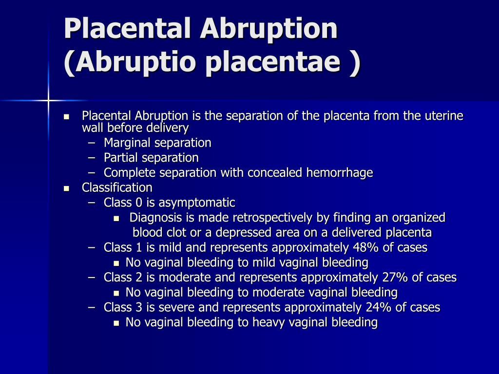 PPT - Late Pregnancy Bleeding PowerPoint Presentation ...