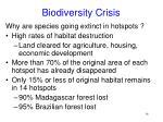 biodiversity crisis16